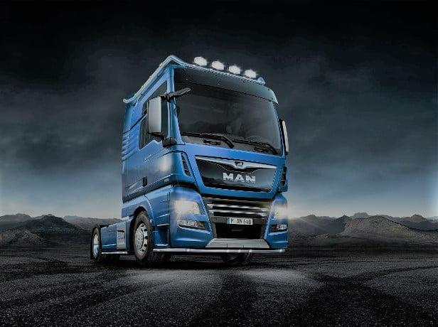 کامیون مدل مان TGX
