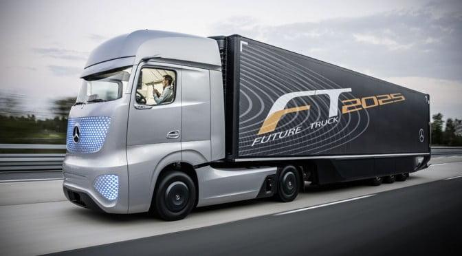 Mercedes Benz Future Truck 2025 image 1 672x372 1 - کامیون های خودران؛ انقلاب در صنعت حمل و نقل