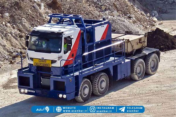 بوژی از انواع کامیون در ایران