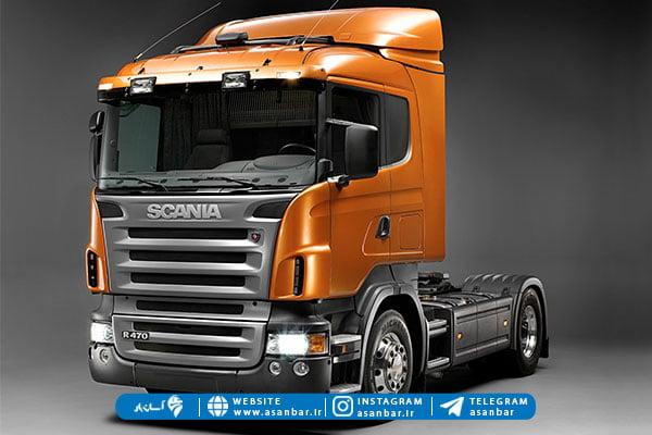 کامیون اسکانیا مدل جدید