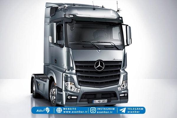 کامیون تک محور از انواع کامیون