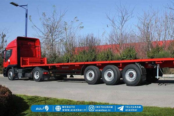 کامیون تیغه دار از انواع کامیون