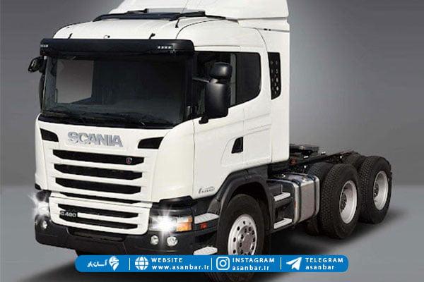 کامیون جفت محور از انواع کامیون