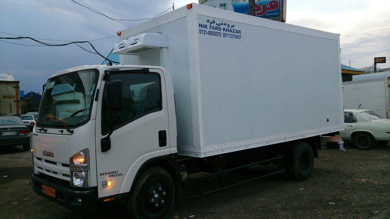 کامیون یخچالدار