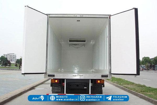 کامیون یخچالدار از انواع کامیون