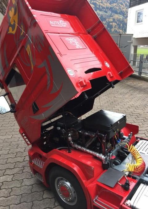 مدل کامیون اسکانیا R500 Topline، بینظیر و منحصر به فرد!