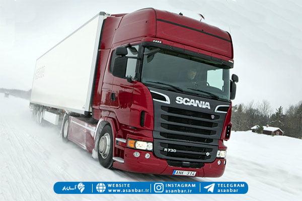 نسل جدید کامیون اسکانیا