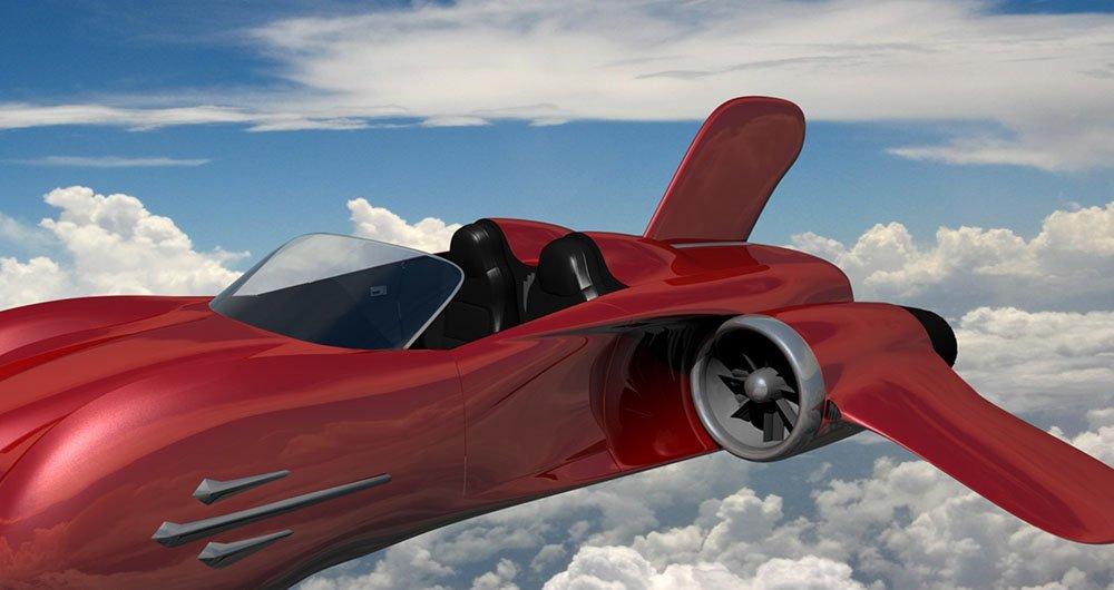 نخستین ماشین پرنده به زودی در ژنو فرود میآید