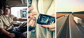 چگونه در جاده با دیابت کنار بیاییم