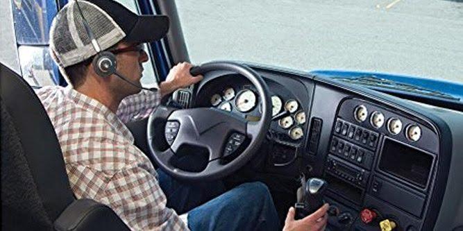 چه نوع از هدست بلوتوث برای رانندگان کامیون مناسب هستند؟