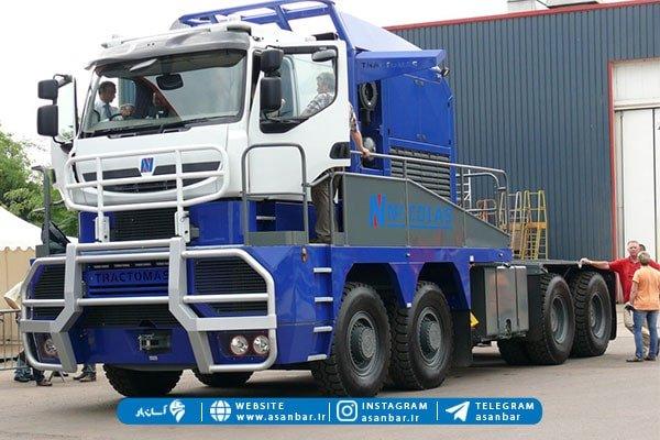 بزرگ ترین کامیون جاده ای