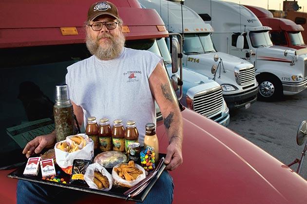 تغذیه سالم برای رانندگان