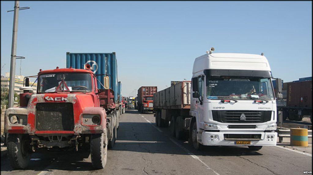 آسان بار-آسان پدیا-گرانی لاستیک عامل اصلی اعتصابات کامیون داران