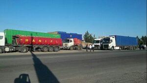 آسان بار-آسان پدیا-به سرانجام رسیدن مطالبات کامیون داران