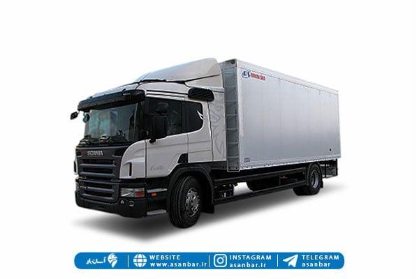 اجزای اصلی یک کامیون یخچالی