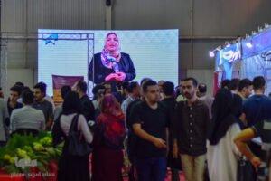 آسان بار-آسان پدیا-آسان بار در نمایشگاه استارت آپ ها و تکنولوژی اصفهان