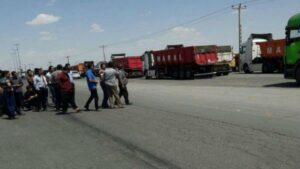 آسان بار-آسان پدیا-اعتراضات همچنان نیازمند رسیدگی-اعتراضات کامیون داران