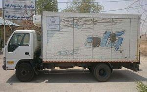 تصویب تن کیلومتر برای کامیون های یخچال دار