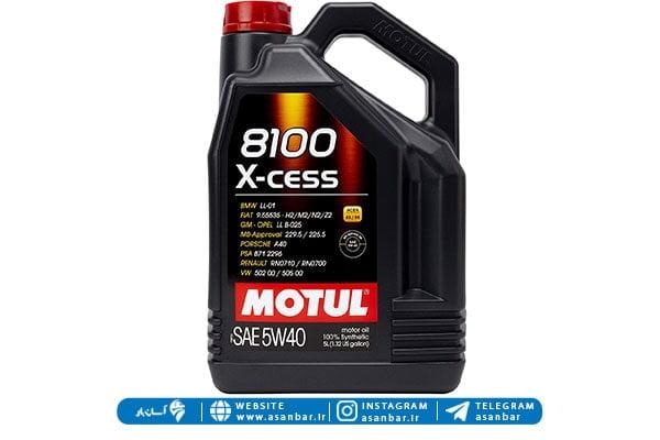 روغن موتور سنتتیک بنزینی و دیزلی Motul
