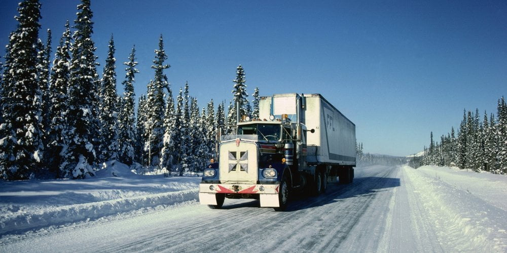 15 اصل بسيار مهم براي كاميونداري در فصل زمستان