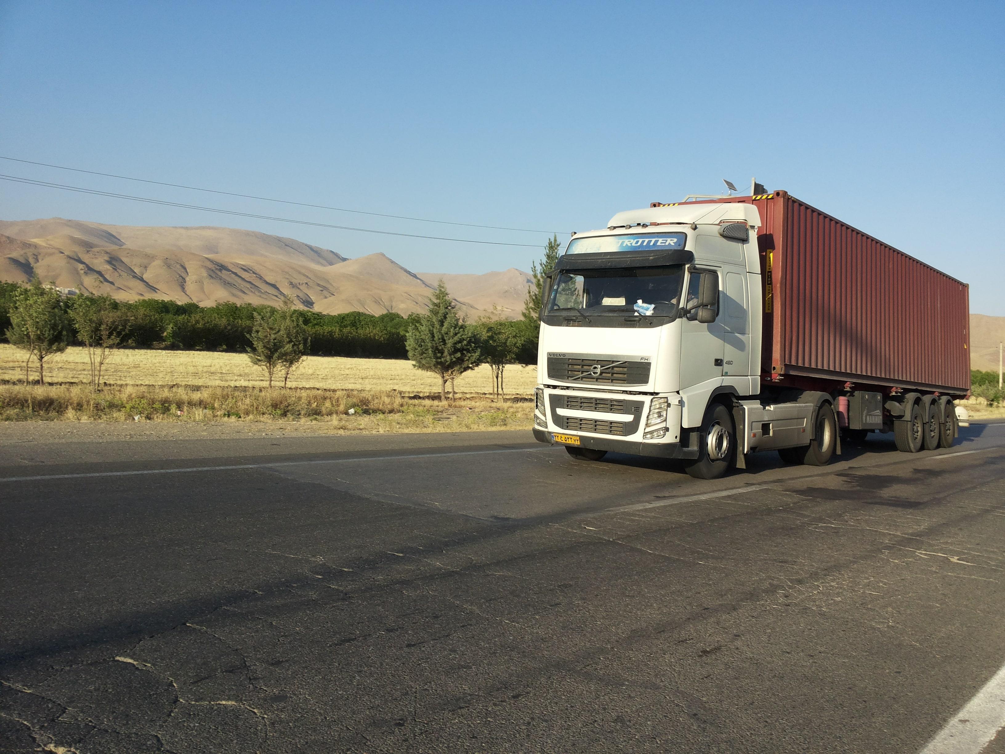 1 min 1 - مشکل ناوگانهای چادردار(کامیون ترانزیت)