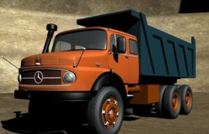 آسانبار،آسان پدیا،تاریخچه کامیونسازی بنز، از مایلر تا آکتروس