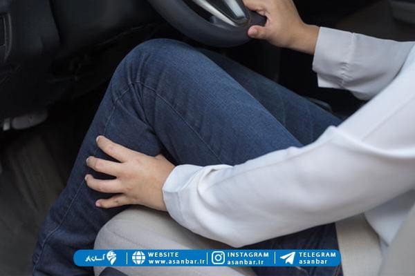 درد پا بعد از رانندگی و راه های مقابله
